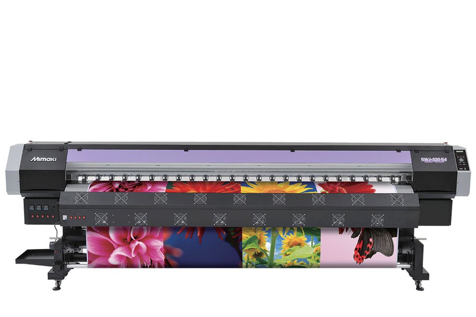Mimaki SWJ320 Series Indoor/Outdoor Signage